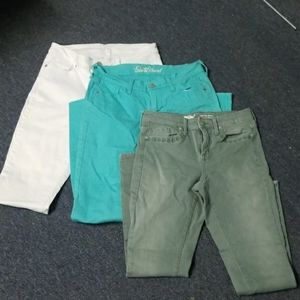3 Pairs of Size 4 Skinnies